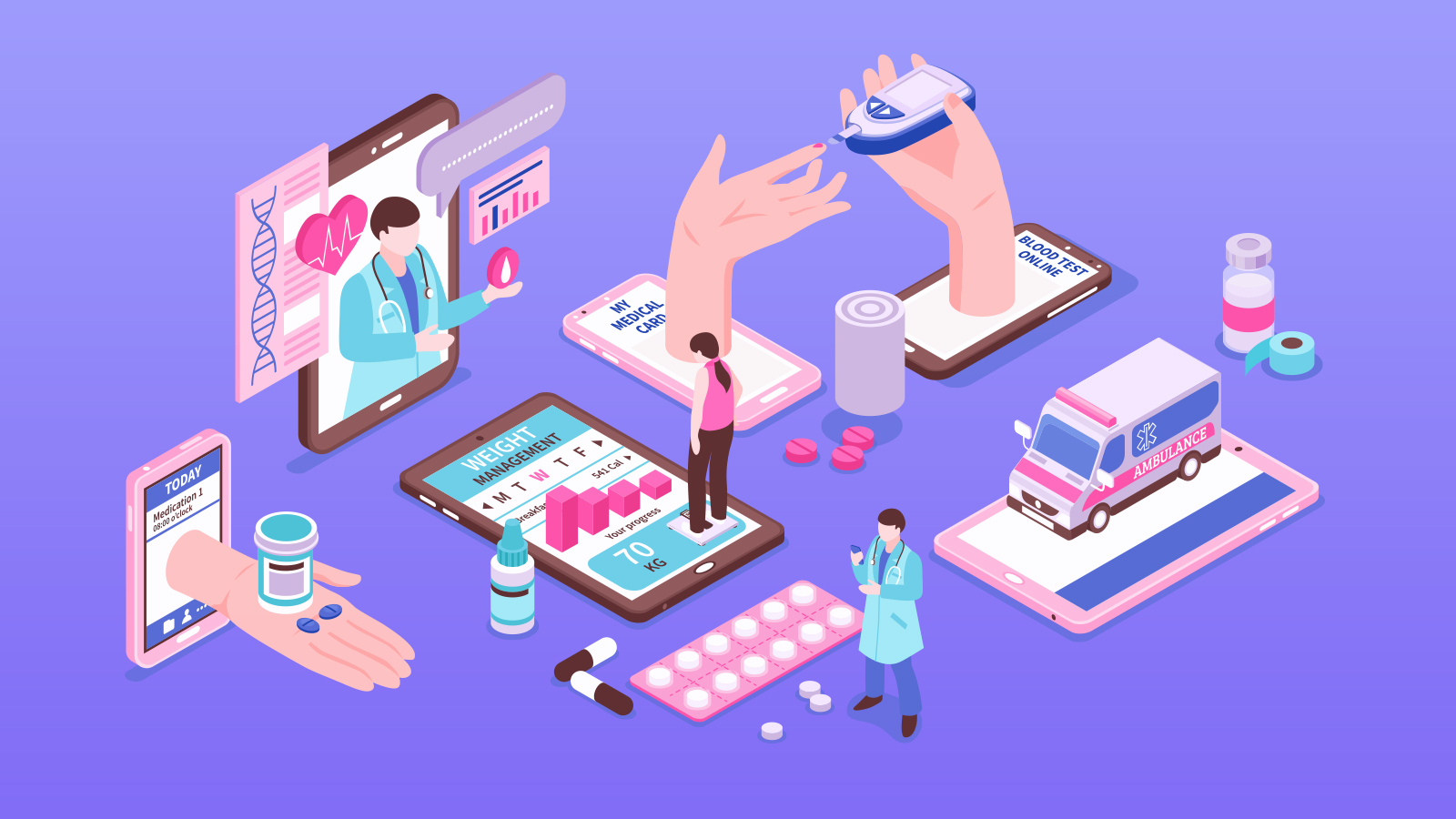 The Ever-Growing Internet of Things for Healthcare