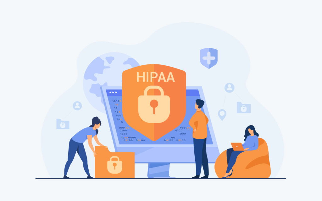 HIPAA security standards require software systems