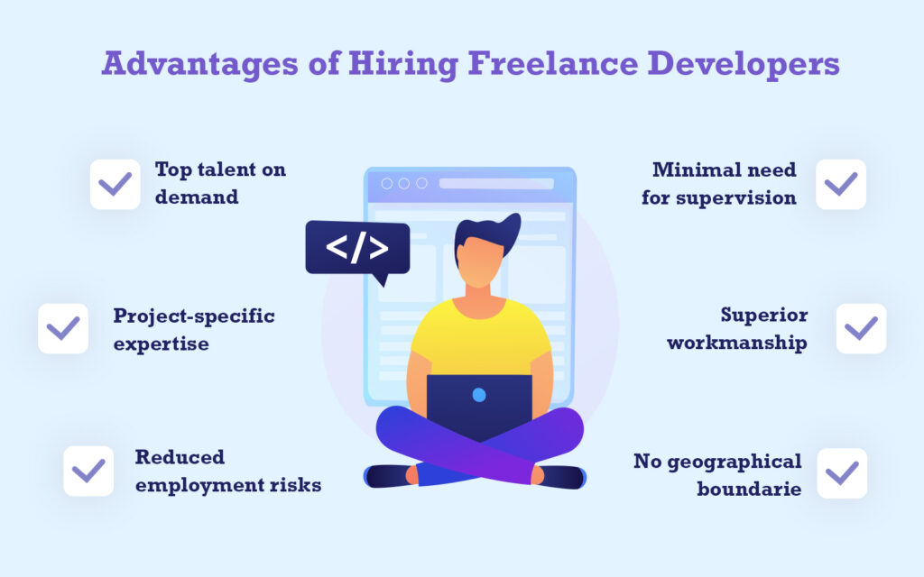 Advantages of Hiring Freelance Developers