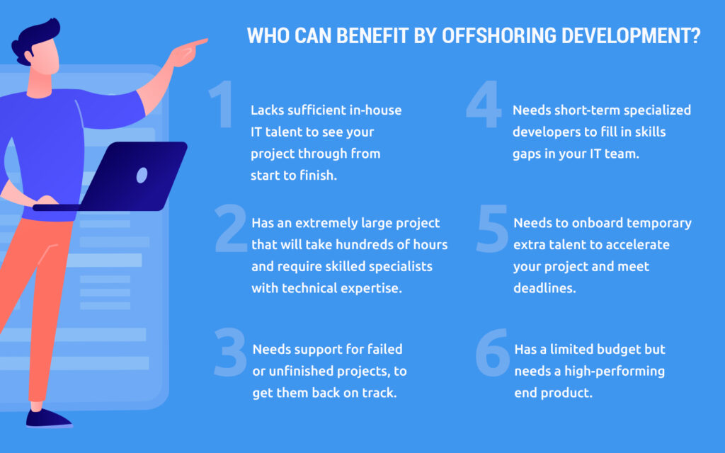Who Can Benefit by Offshoring Development?
