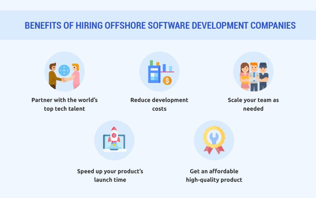 Benefits of Hiring Offshore Software Development Companies