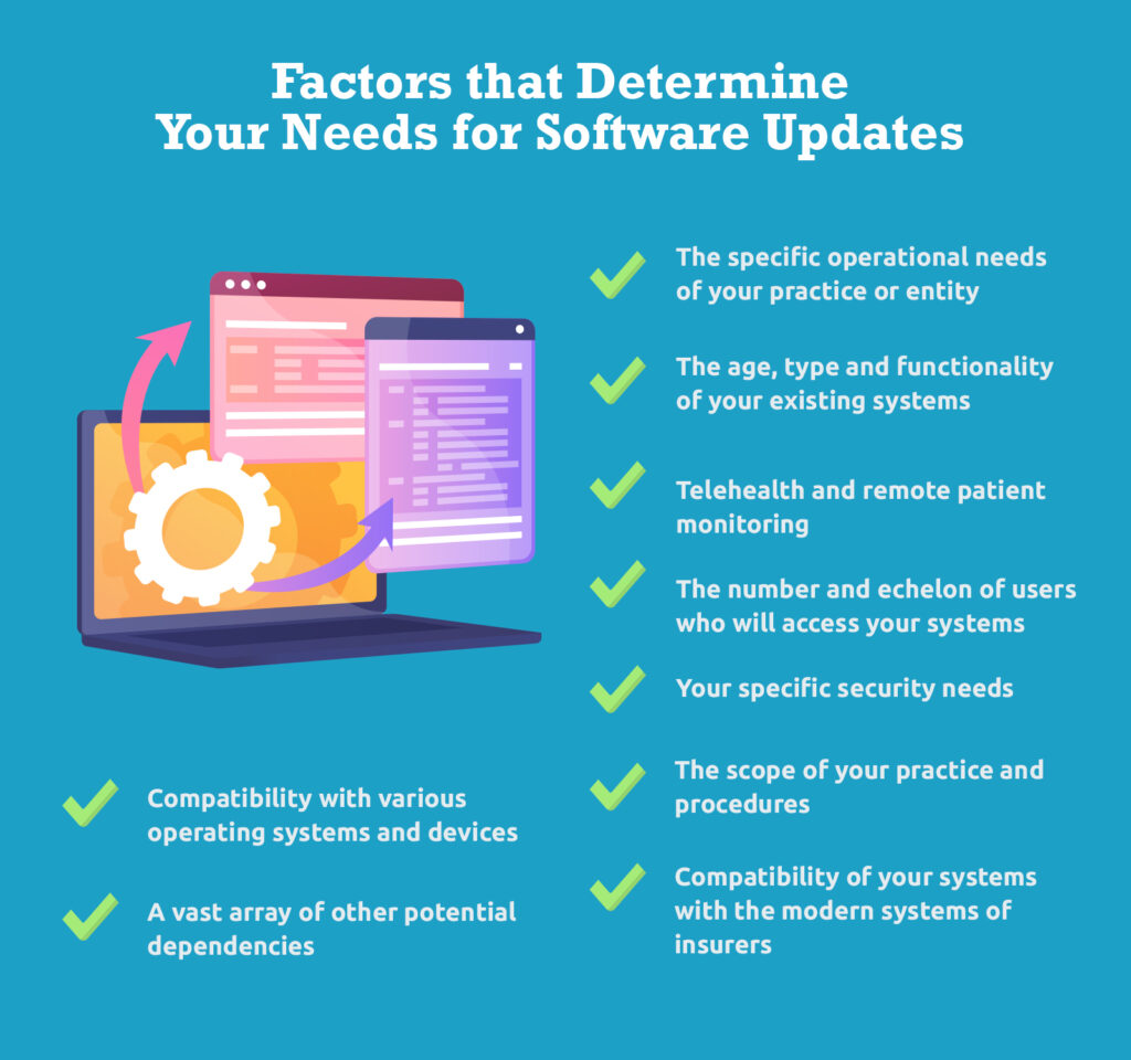 Factors that Determine Your Needs for Software Updates