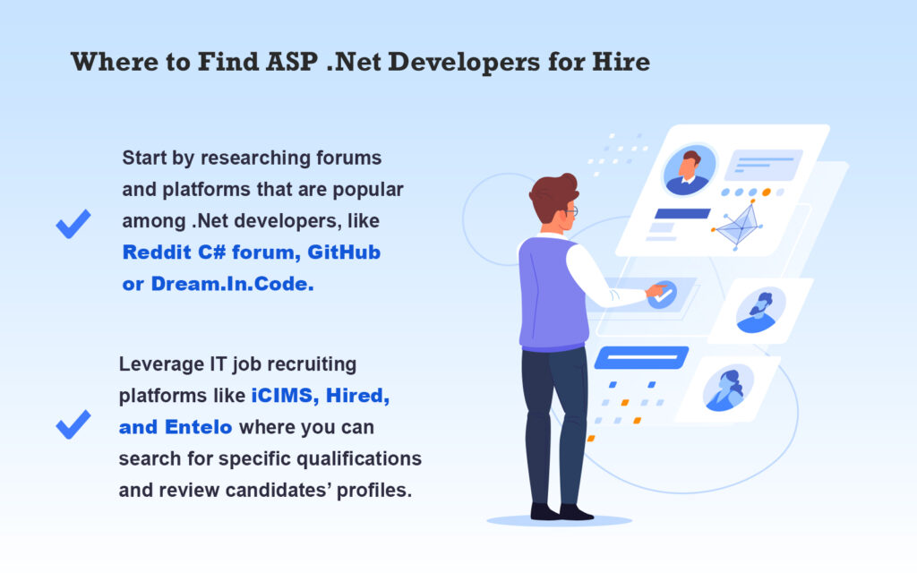Find ASP .Net Developers for Hire