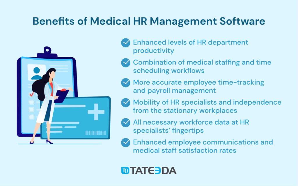 Benefits of Medical HR Management Software