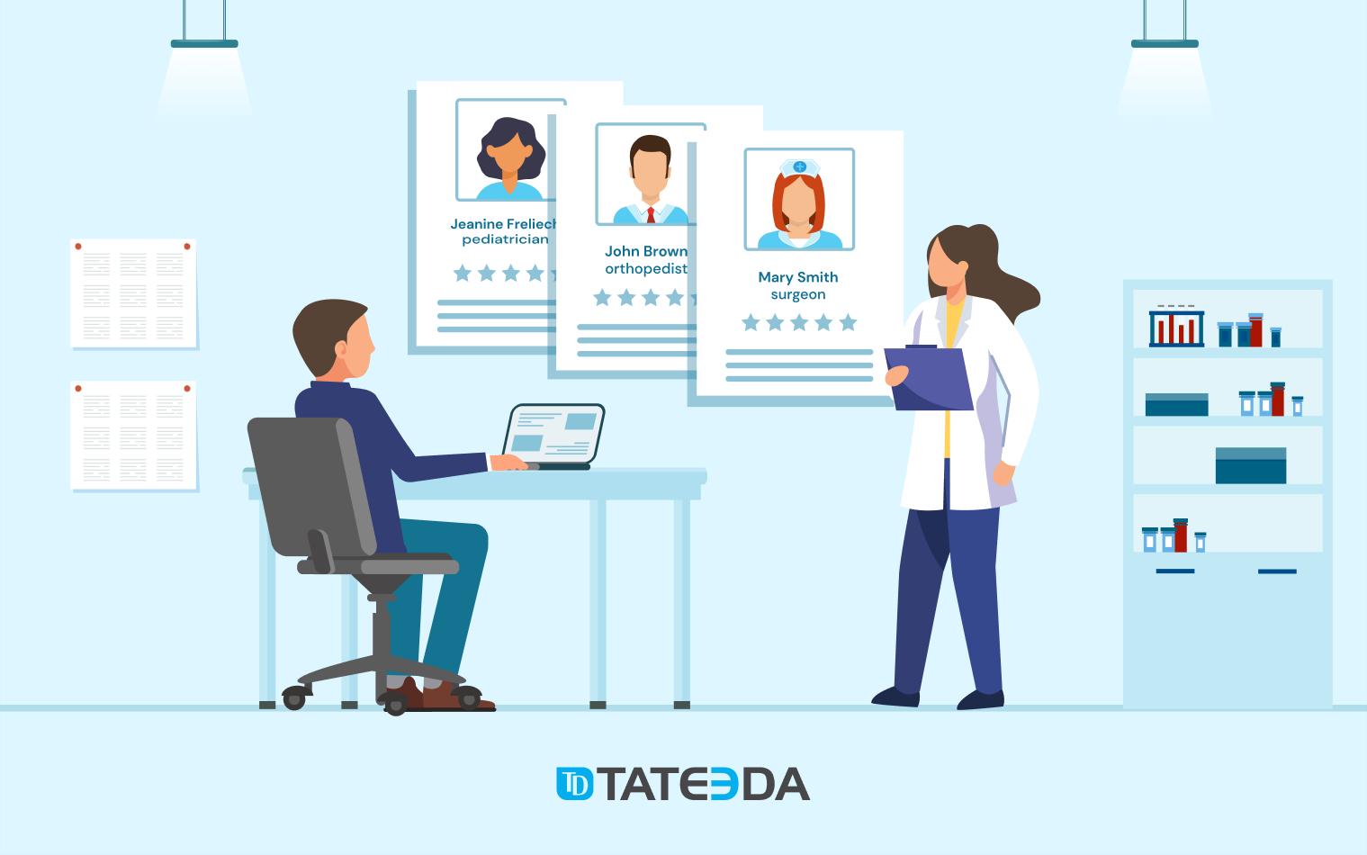 Medical HR Software Development Title