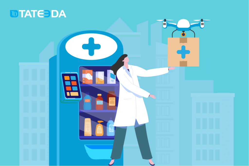 E-prescription software eliminates the need for patients to visit a drugstore personally