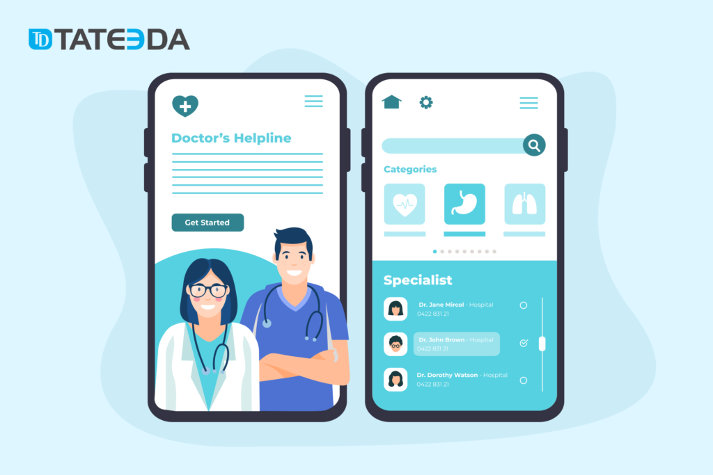 Mobile healthcare apps can belong to countless categories based upon their specific medical purpose or the business models for which they were built.